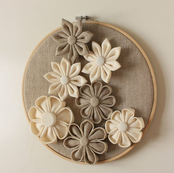 wall flowers decor home decor wall hanging by neschdecoration - Home Decor Wall Hangings