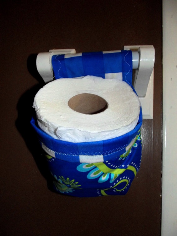 Toilet Paper roll holders by CreativeJCrafts on Etsy, $5.00