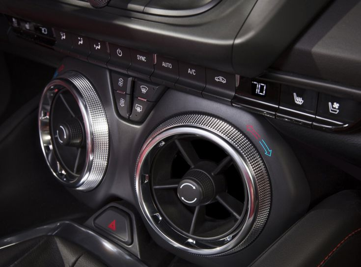 The New Camaro Features a Clever Design for HVAC Controls - Core77