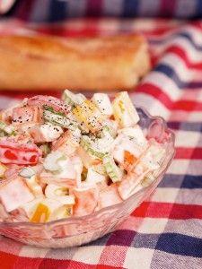 Surimi salat