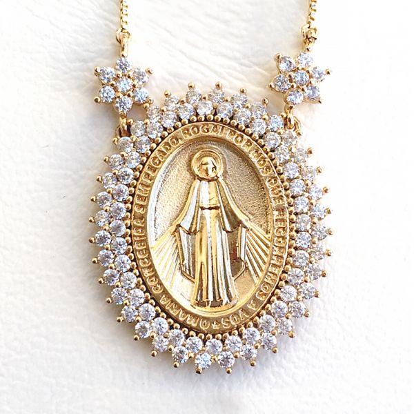 Colar Nossa Senhora das Graças | Lanarée Acessórios