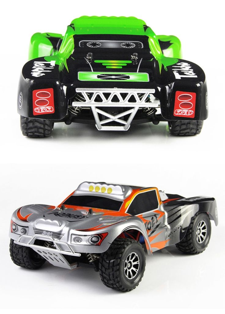 Rc Trucks Green : Wltoys scale high speed electric remote control car short