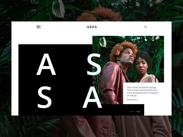 Assa Fashion Header by inthink.studio