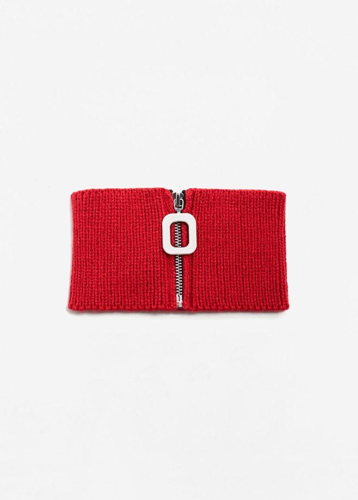 MANGO – Knit Scarf | Leandra Medine x Mango