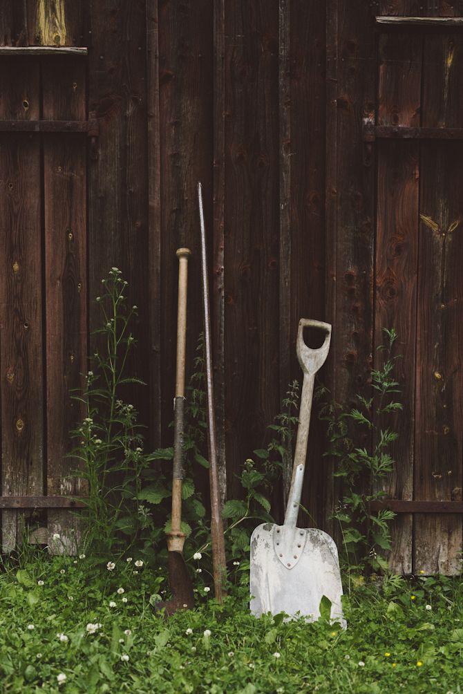 Summer cottage garden tools