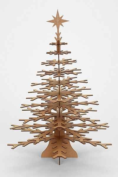 Cardboard Safari Snowflake Tree - Urban Outfitters                                                                                                                                                                                 More