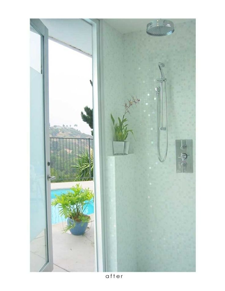 Shower with pool access compact 3 4 bath pinterest for 3 4 bath