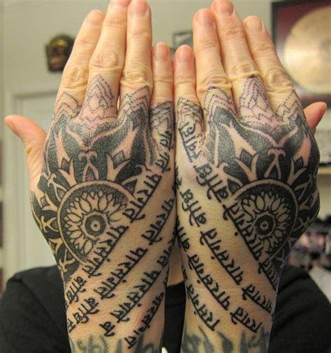 hand tattoos designs