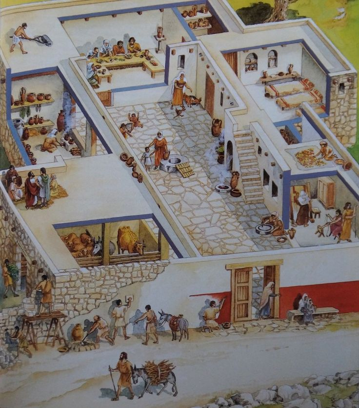 What were the houses like in jesus 39 time awestruck - Casas para belenes hechas a mano ...