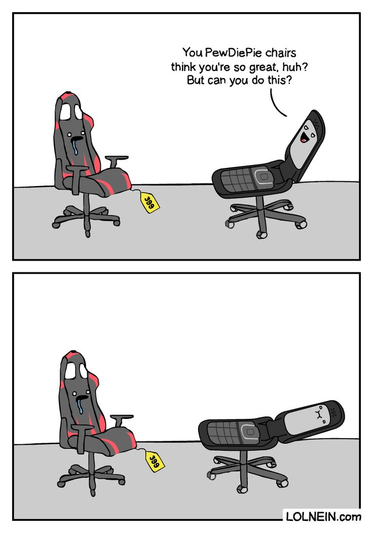 PewDiePie vs LOLNEIN | but can you do this chair meme