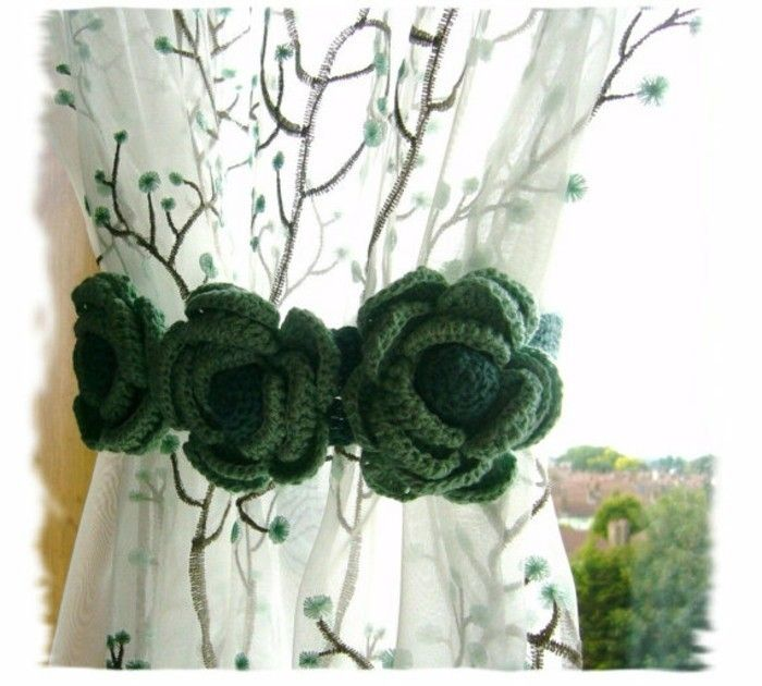 17 meilleures id es propos de rideaux roses sur - Embrasse rideau originale ...