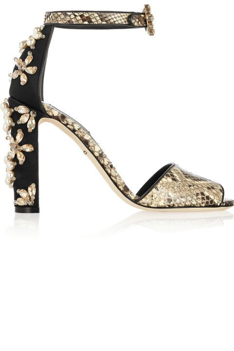 We have your go-to holiday shoes and we're obsessed with these Dolce & Gabbana sandals. See all 14 perfect pairs for this season:
