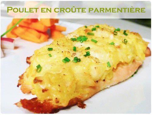 La croûte parmentière est composée de pommes de terre, mozzarella et oignon. Le tout est lié avec un oeuf. On peut en faire également d'excellentes croquet