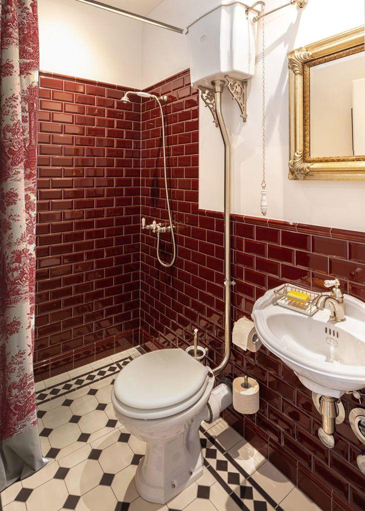 Bad Im Vintage Stil In 2020 Badezimmer Dekor Traditionelle Bader Badezimmer