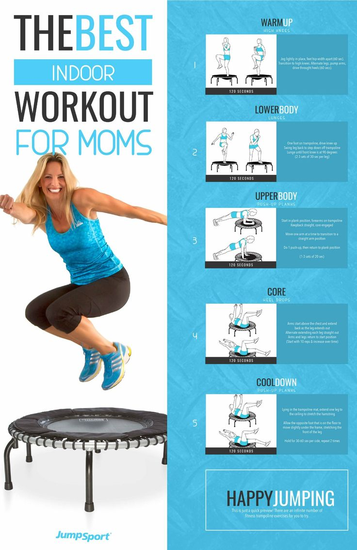 RATED # 1 FITNESS TRAMPOLINE FOR 17 YEARS With three easy-to-adjust firmness settings choose your bounce. Provides a deep, low-impact, shock-absorbing workout G