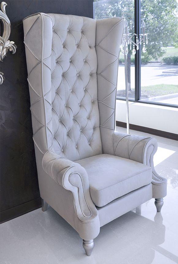Baroque High Back Chair | High back chairs, High back ...