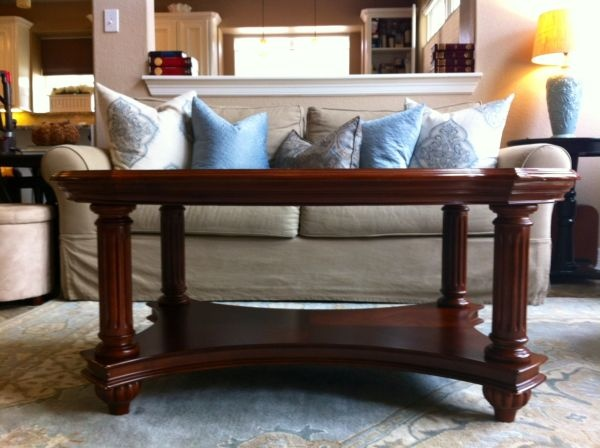 Houston: SOLID WOOD Coffee Table, Beautiful! EUC $120   Http://