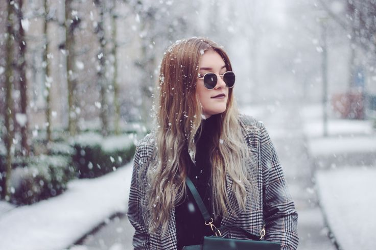 Outfit in the snow on a casual saturday!