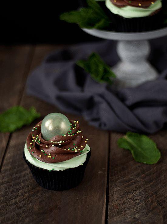 Cupcakes de Chocolate y Menta 3