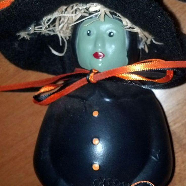 Mrs. Butterworth Jar Witch