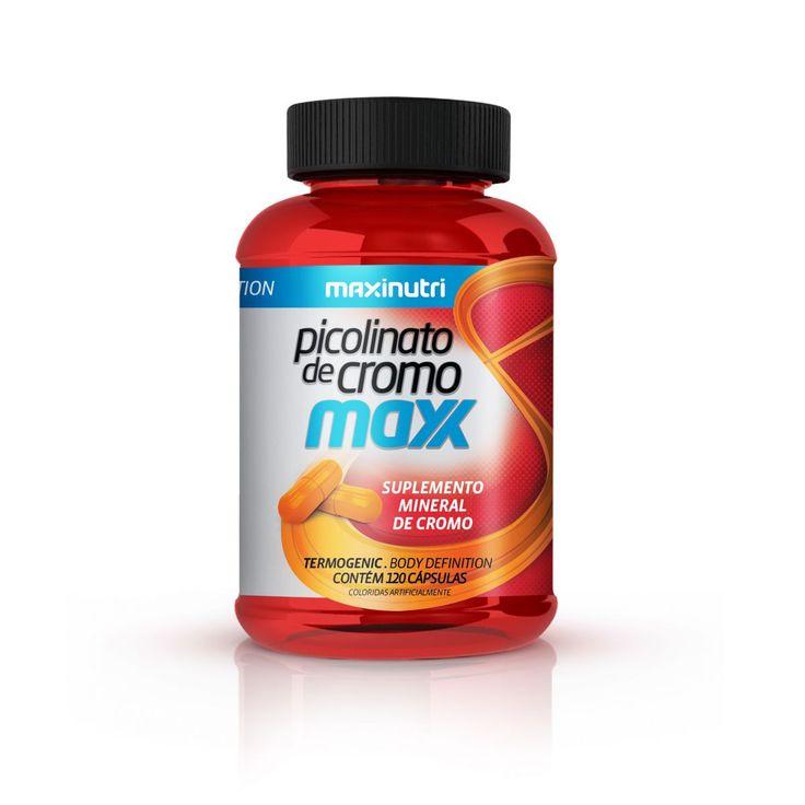 Picolinato de Cromo Maxx  - FarmaViver