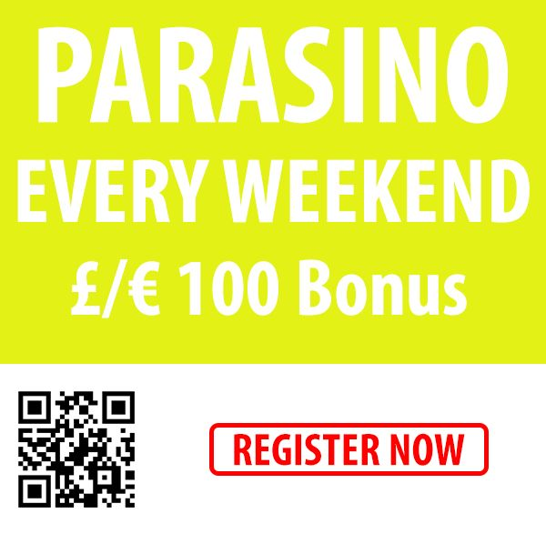 Have you claimed your Weekend Bonus yet?  Deposit before 23:59  today and get 50% up to €/$100  #online #casino #bonus  http://parasino.com/en/promotions/weekend-top-up-casino-bonus