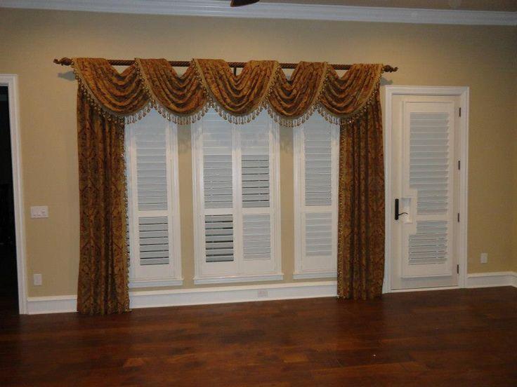 custom window treatments & Shutters