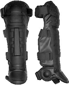 Shinguards Ballistic Leg Protection PPI's NIJ Level IIIA shin guards provide effective protection to the knees, shins and ankles. In addition to ballistic protection, the shin guards also guard against blows and corrosive chemicals. The shin guards feature removable ballistic panels.