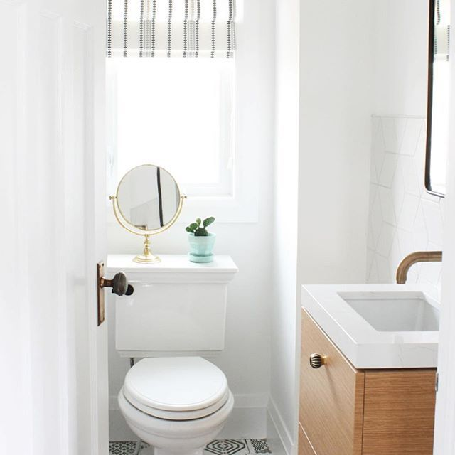 Pint Size Powder Room Perfection Trinsic Wall Mount