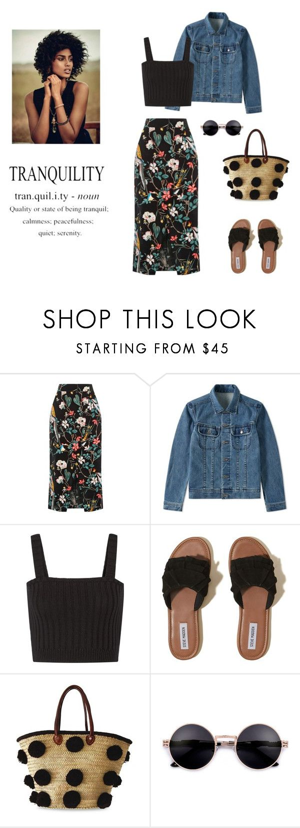 """""""Late summer days aka. early autumn"""" by dorey on Polyvore featuring Warehouse, A.P.C., Valentino, Hollister Co. and Soeur Du Maroc"""