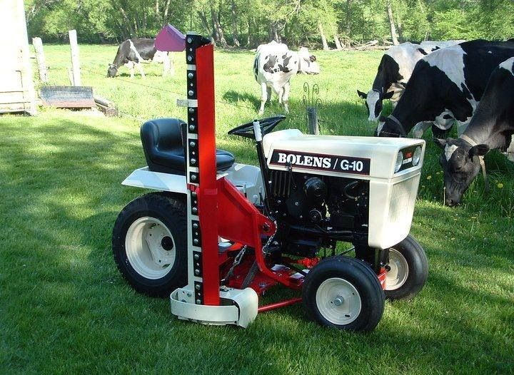 Bolens Lawn Tractor : Old school bolens… under appreciated garden tractors