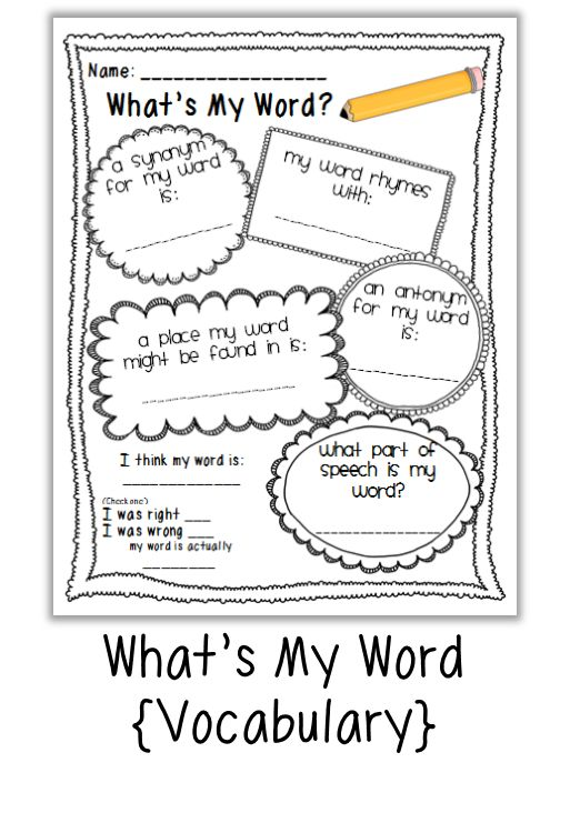 All Worksheets » Classroom Vocabulary Worksheets - Printable ...