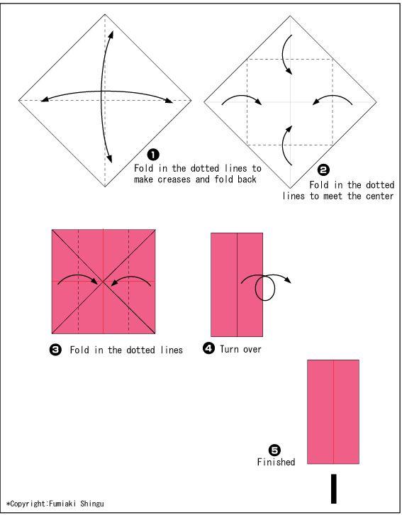 Origami alphabet(I)