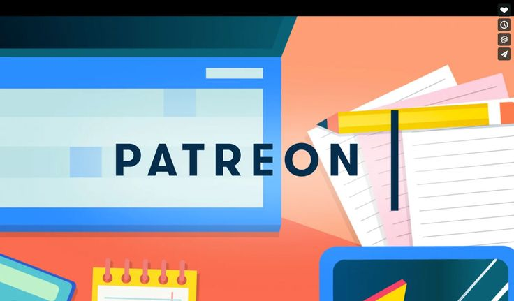 New video: Patreon Rebrand by Andrew Vucko http://mindsparklemag.com/video/patreon-rebrand/