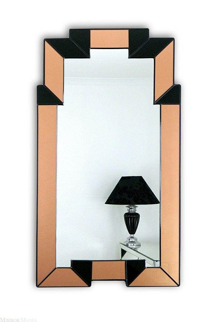 169 best art deco spiegels images on pinterest art deco mirror mirrors and mirror mirror. Black Bedroom Furniture Sets. Home Design Ideas