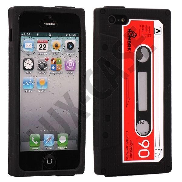 Retro Cassette Tape (Sort) iPhone 5 Cover.  149,00 kr  http://lux-case.dk/retro-cassette-tape-sort-iphone-5-cover.html