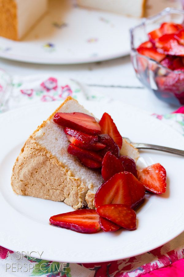 Strawberries For Angel Food Cake Recipe