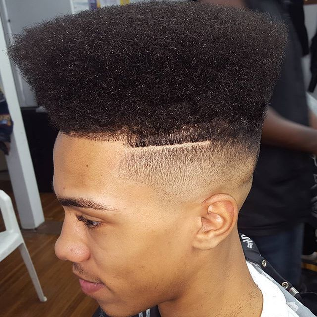 Wide High Top with Faded Sides