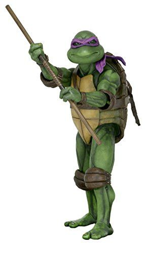 NECA Teenage Mutant Ninja Turtles (1990 Movie) Action Figure - Donatello (1:4 Scale)
