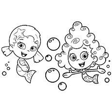 47 best bubble guppies images on pinterest | bubbles, bubble ... - Bubble Guppies Coloring Pages Goby