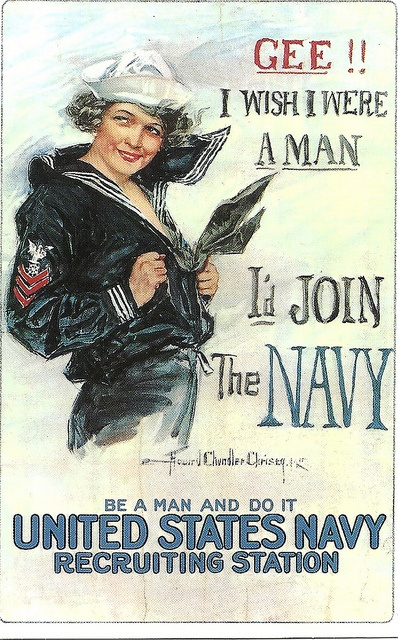 Vintage Navy Recruitment Poster