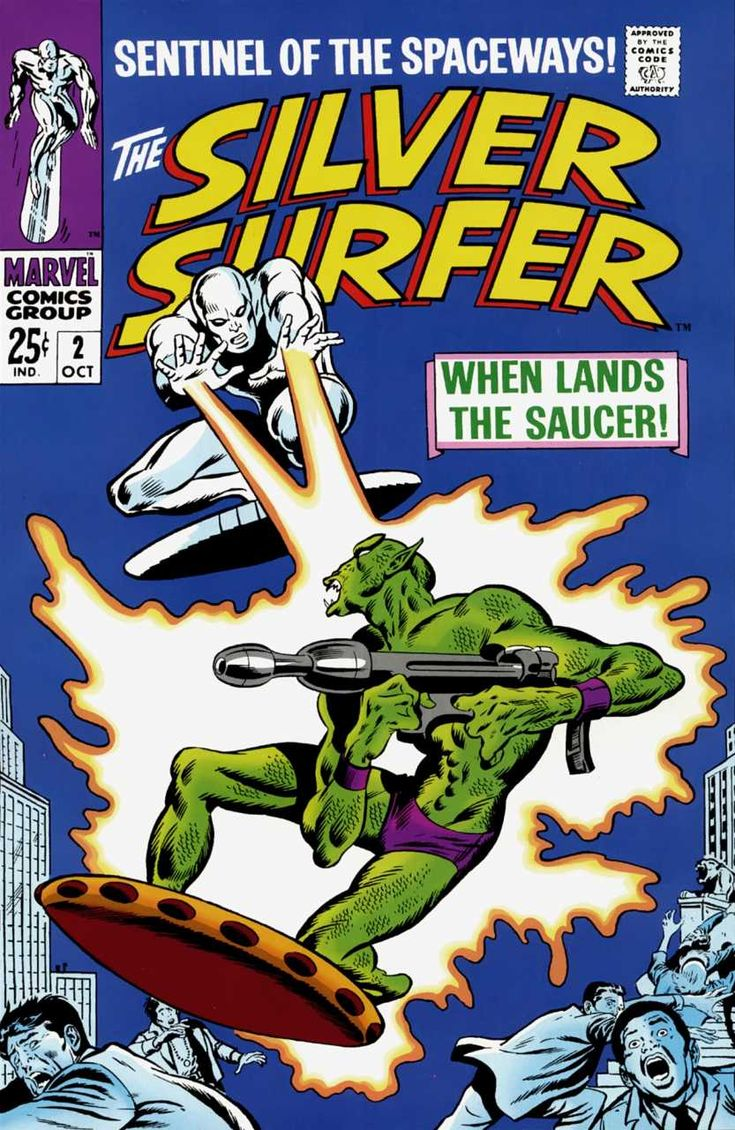 The Silver Surfer #2 - When Lands The Saucer (Issue)