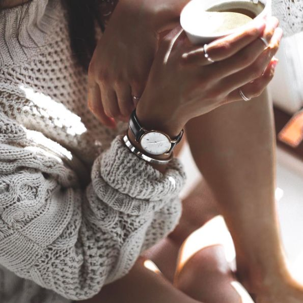 Stay warm and cozy || get 15% off when you use my code CAMILLE_DW on www.danielwellington.com
