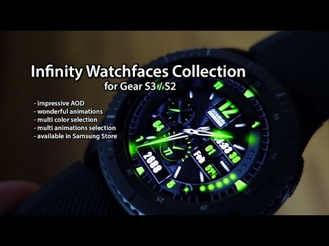 Infinity Watchfaces - Collection for Gear S3 / S2 - Andrasi.ro