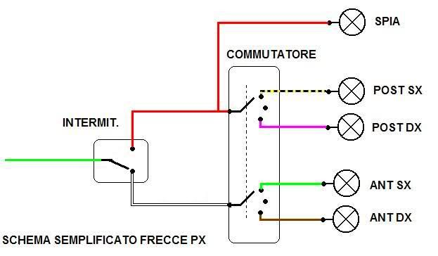 Schema Elettrico Zbx74 78 : Risultati immagini per relè frecce auto schema