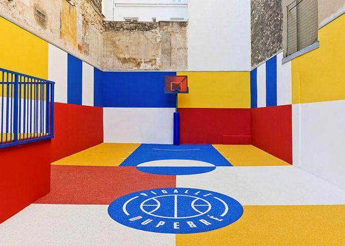 Pigalle Duperré Basketball Court - Paris, France