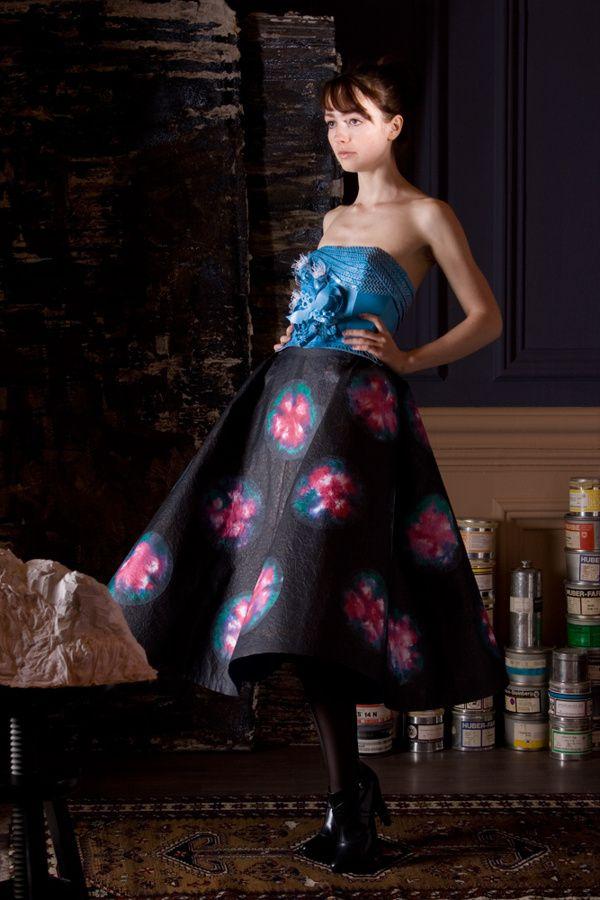 Paper Dress No. 61  by Tobias Binderberger
