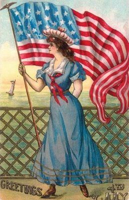 vintage july 4th fourth postcards - Bing Images