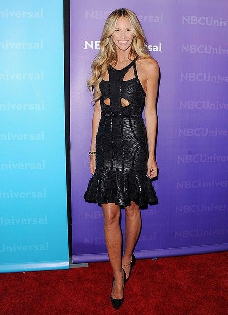 Supermodel #ElleMacpherson arrives at the NBC Universal All-Star Party at The Athenaeum on January 6, 2012 in Pasadena, California.