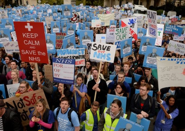 Video update about junior doctor protest 17th of October